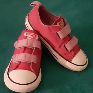Converse girl sneakers
